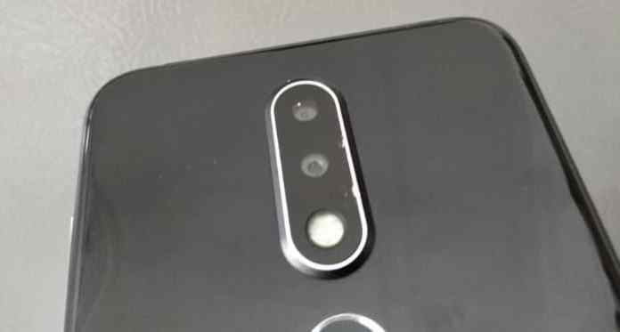 Nokia 6.1 Plus (Nokia X6) Back Side Review