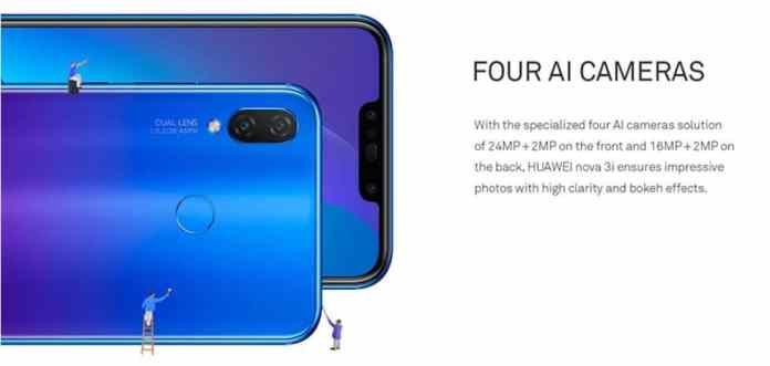 Huawei Nova 3i Coupon Code $50 From GearBest