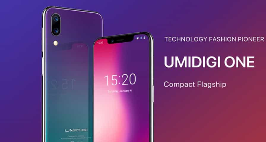 UMIDIGI One GearBest Coupon Code with Free Shipping option