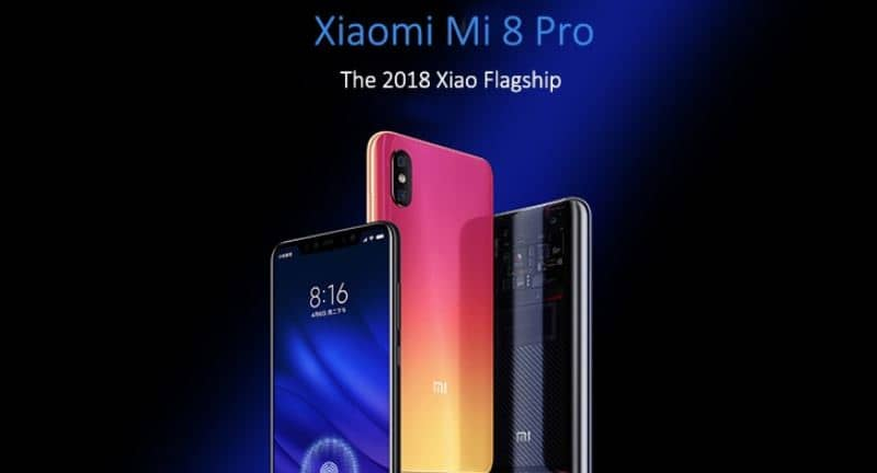Xiaomi Mi 8 Pro $6 Coupon Code from CooliCool