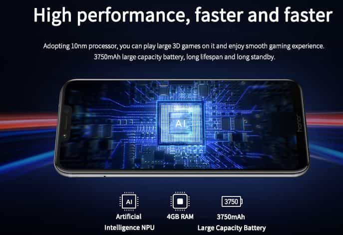 Huawei Honor Play GearBest $54 Coupon Code