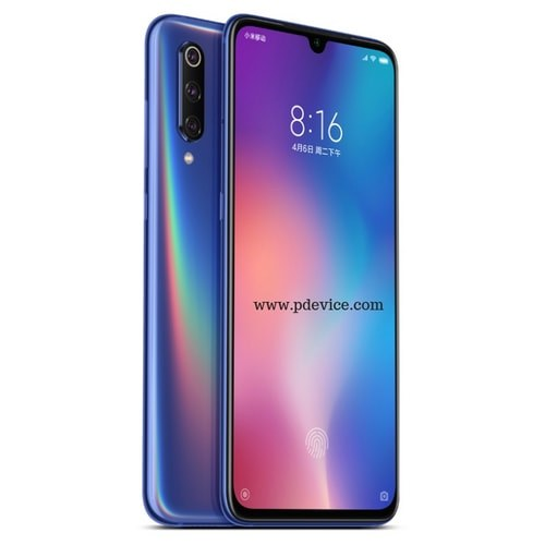 Xiaomi Mi 9 Smartphone Full Specification