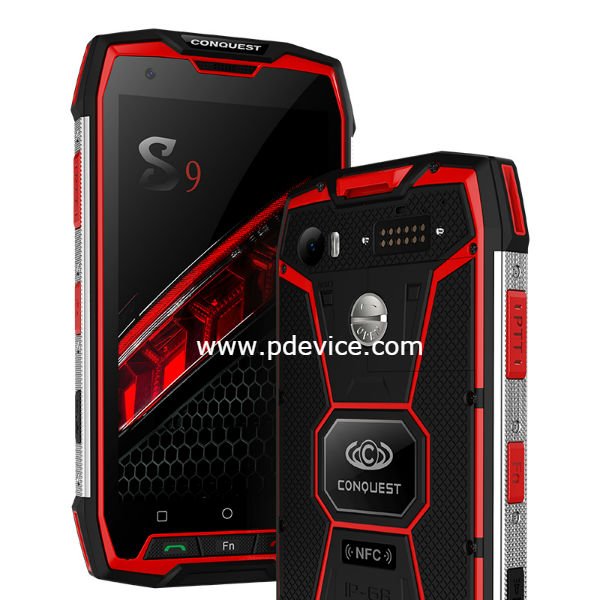 Conquest S9 MT6757 Smartphone Full Specification