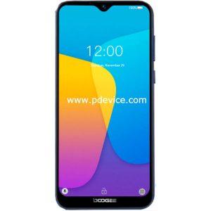 Doogee Y8c Smartphone Full Specification