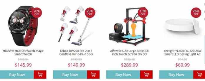 Top Seller Gear From GearBest with Coupon Code & Flash Sale