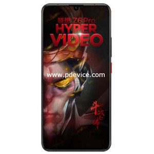 Lenovo Z6 Pro Smartphone Full Specification