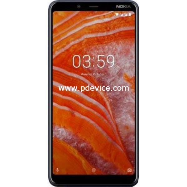 Nokia 3.1 Plus Smartphone Full Specification