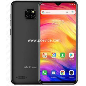 Ulefone Note 7 Smartphone Full Specification