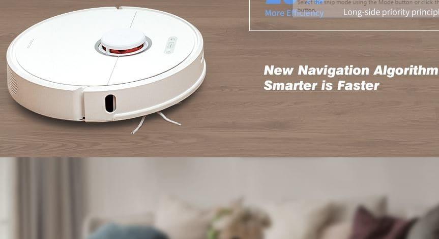 Roborock S6 LDS Robot Vacuum Cleaner $20 Gearbest Promo Code Online