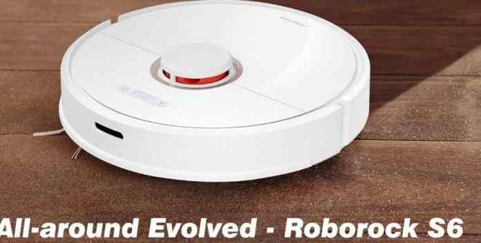 Roborock S6 LDS Scanning SLAM Algorithm Robot Vacuum Cleaner Coupon $20