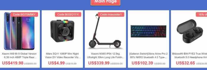 2019 Banggood Flash Sale for All Popular Xiaomi Product