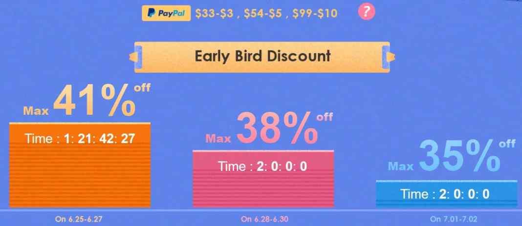 Banggod 41% Discount on Summer Sale 2019
