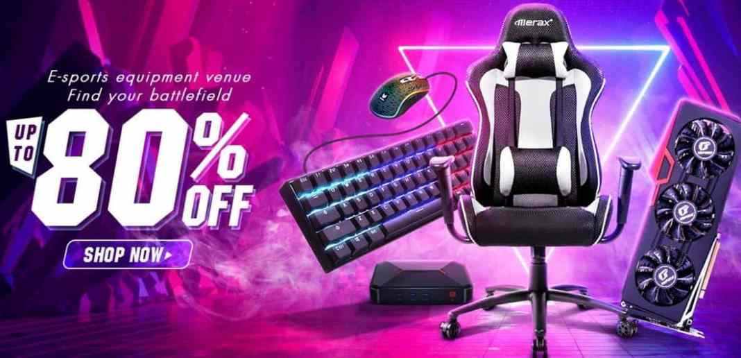 Get Up to 80% from Banggood for Gaming Gadgets