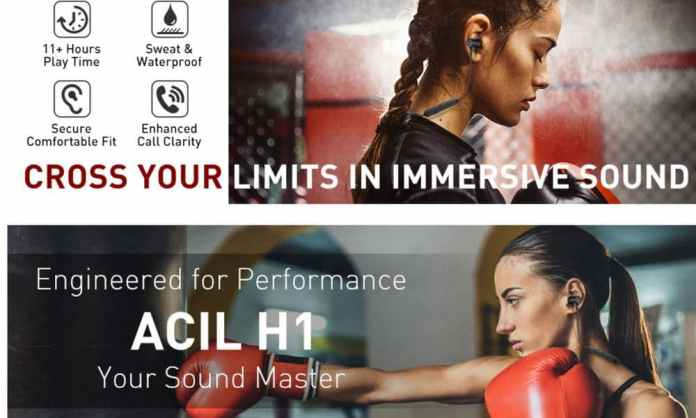 ACIL H1 Wireless Earbuds Buy One Get One Free Deal and Promo Code Available