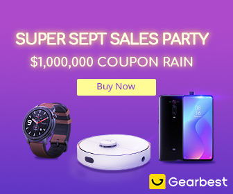 GearBest Sep Party Sale Live - big Deal from Gearbest