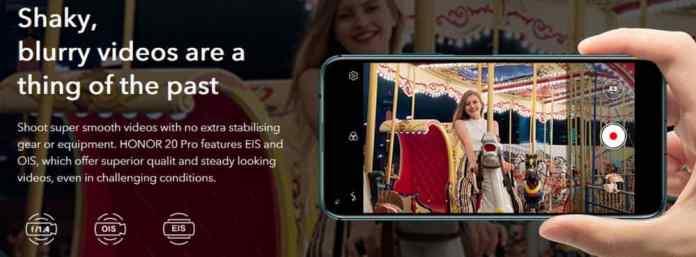 Huawei Honor 20 Pro with $160 Banggood Coupon Code