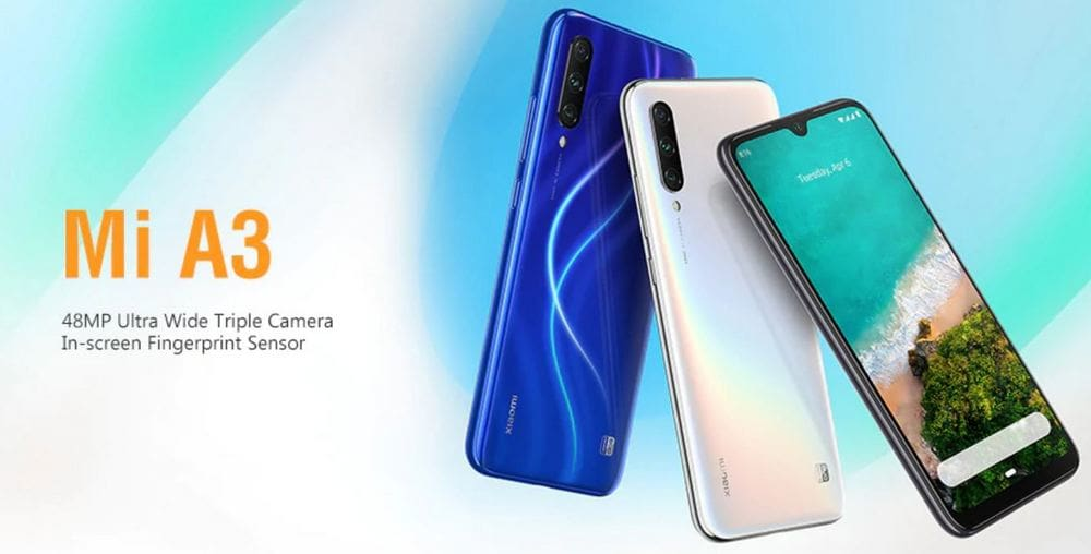 Xiaomi Mi A3 coupon code online $96 with Global shipping