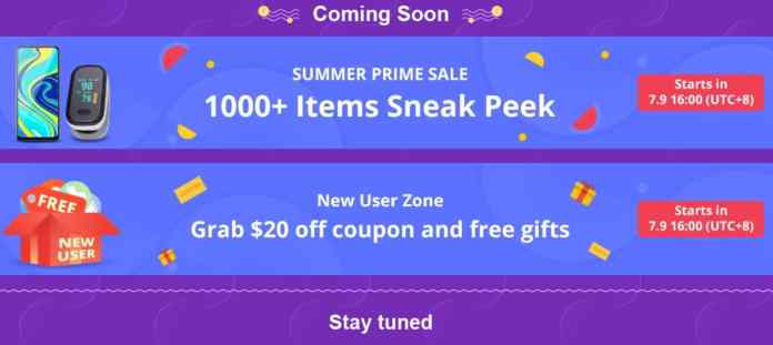 Banggood Summer Prime Sale 2020 - Save More