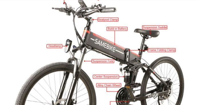 SAMEBIKE LO26-FT Promo Code $20 and Free Delivery