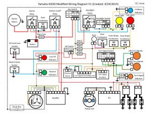 XJ650 Modified Wiring Diagram V1 by Cort Lillard  PDF Archive
