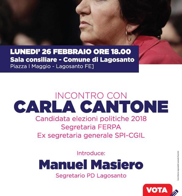 Carla Cantone a Lagosanto