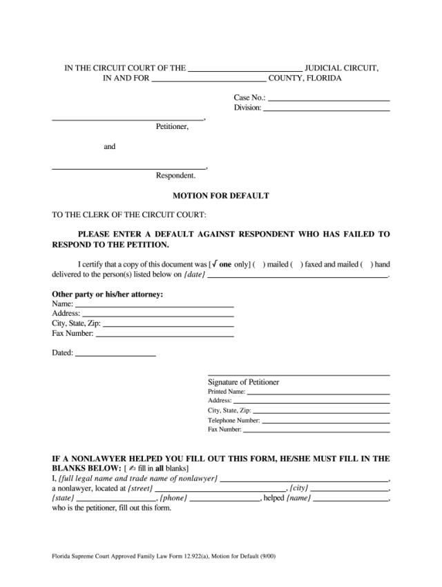 FL 20.20(a) 20-20 - Complete Legal Document Online  US Legal