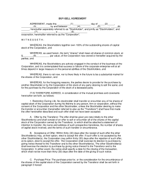 Fillable Buy Sell Agreement Form Arizona Fill Online