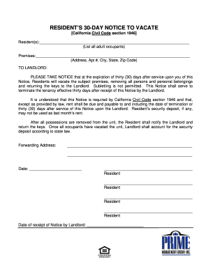 21 Printable Free Printable Eviction Notice Forms And