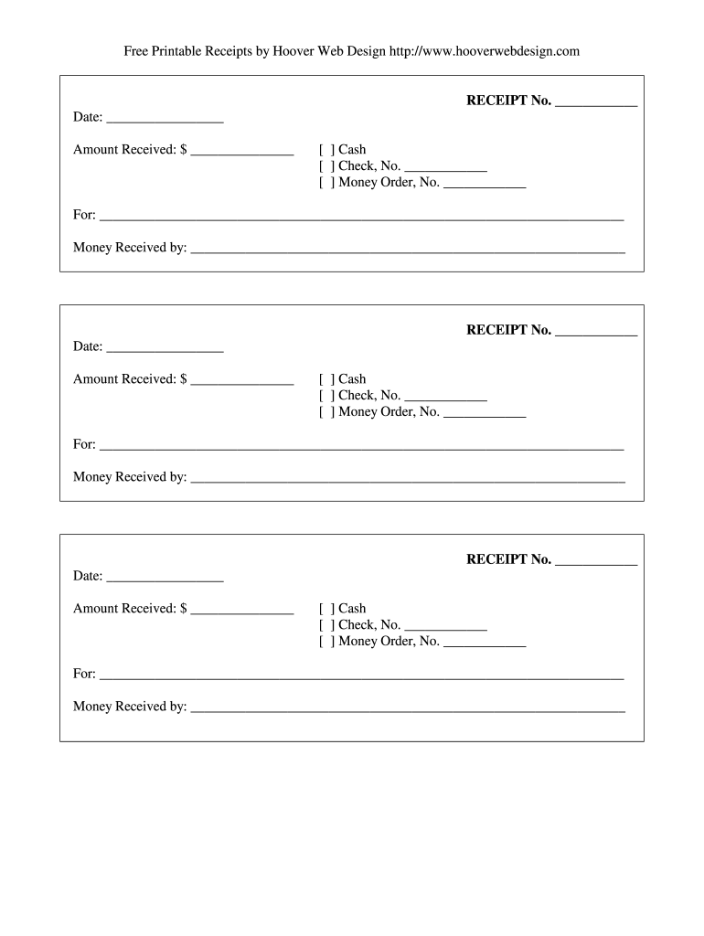 Fillable Receipt Fill Online Printable Fillable Blank