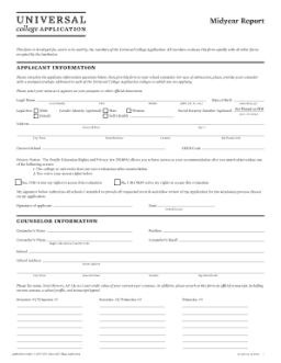 personal statement college application example