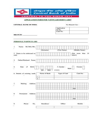 23 Printable Printable Credit Card Application Form