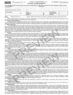 Printable Blumberg Commercial Lease Fill Online Printable