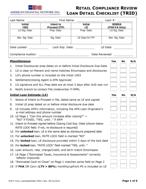 Fillable Contract Review Process Checklist