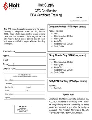 Cfc Certification Online Fill Online Printable Fillable