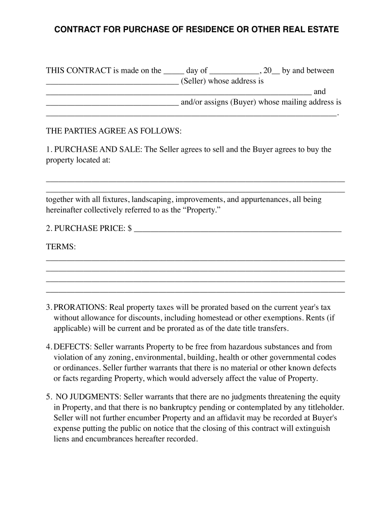 Assignable Purchase Agreement Pdf Fill Online Printable