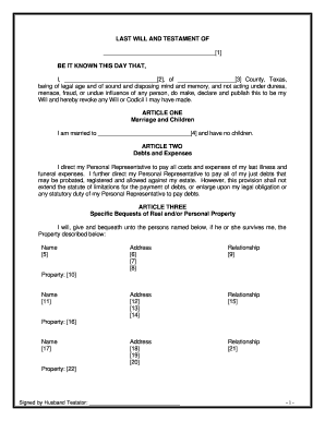 19 Printable Codicil To Last Will And Testament Forms