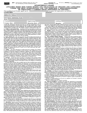Printable Blumberg Lease Fill Online Printable Fillable