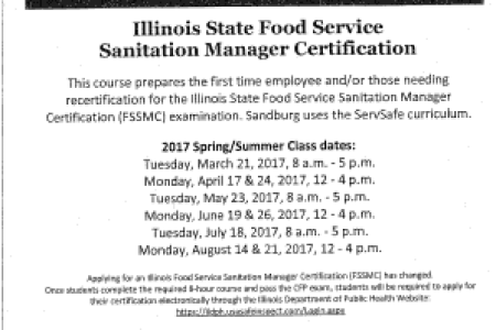 Free Professional Resume » illinois food service sanitation manager ...
