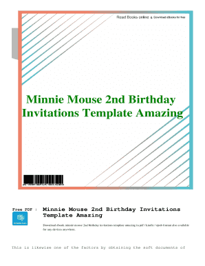 fillable online pdf minnie mouse 2nd