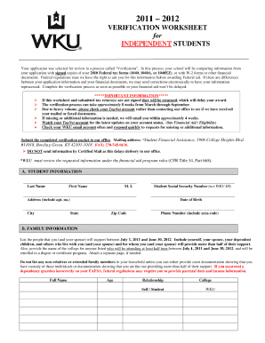 29 Printable Fafsa Form Templates