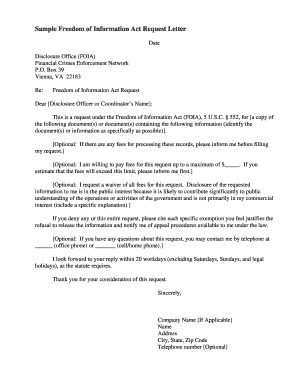 freedom of information act request form letter howtoviews co