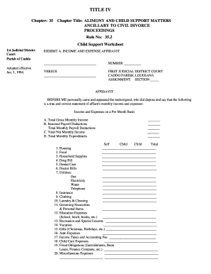 Bill Of Sale Form Kansas Child Support Worksheet Templates