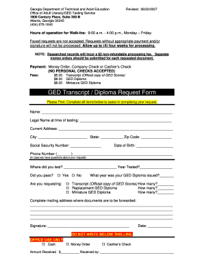79 Printable Ged Sample Test Forms And Templates Fillable