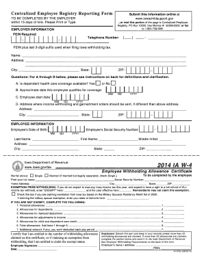 Form Ia Dor W 4 Fill Online Printable Fillable