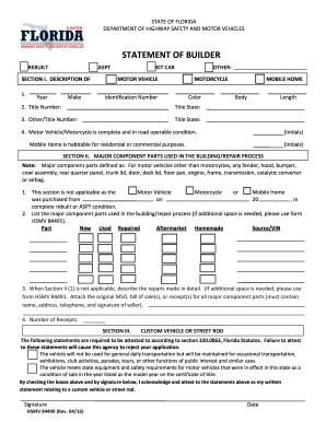 2016 2019 Form FL HSMV 84490 Fill Online Printable Fillable Blank PDFfiller