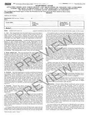 Blumberg Lease Fill Online Printable Fillable Blank