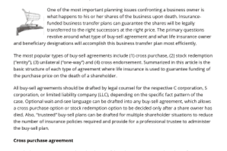 Free Letter Templates » corporate buy sell agreement template ...