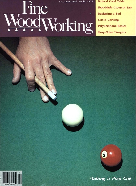 Fine Woodworking – July-August 1986 #59