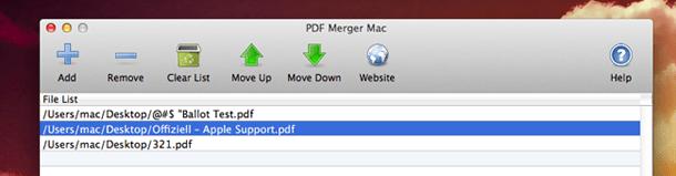 Merge PDF Step 3