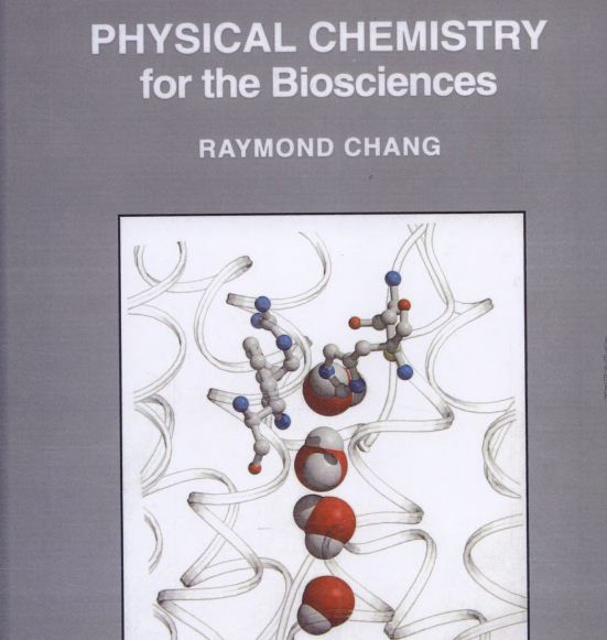 Physical Chemistry for the Biosciences pdf.
